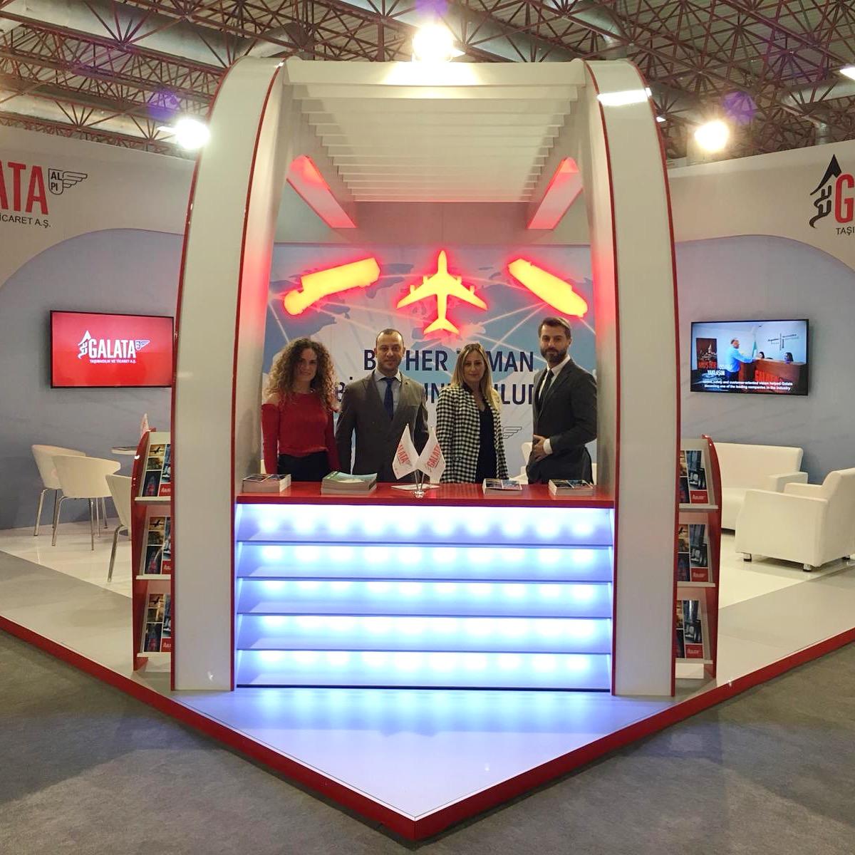 ALPI Galata at Logistrans fair in Turkey