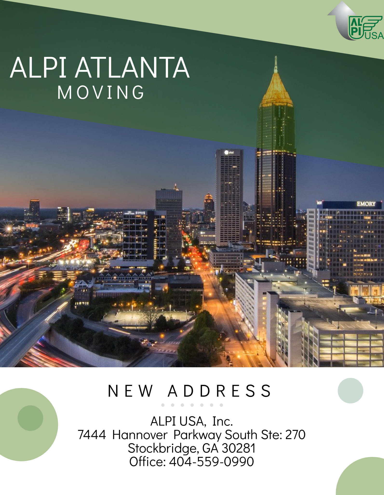 ALPI Atlanta Moving