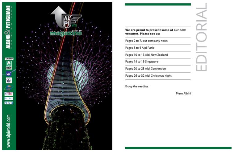 Download the ALPI Magazine Num. 15
