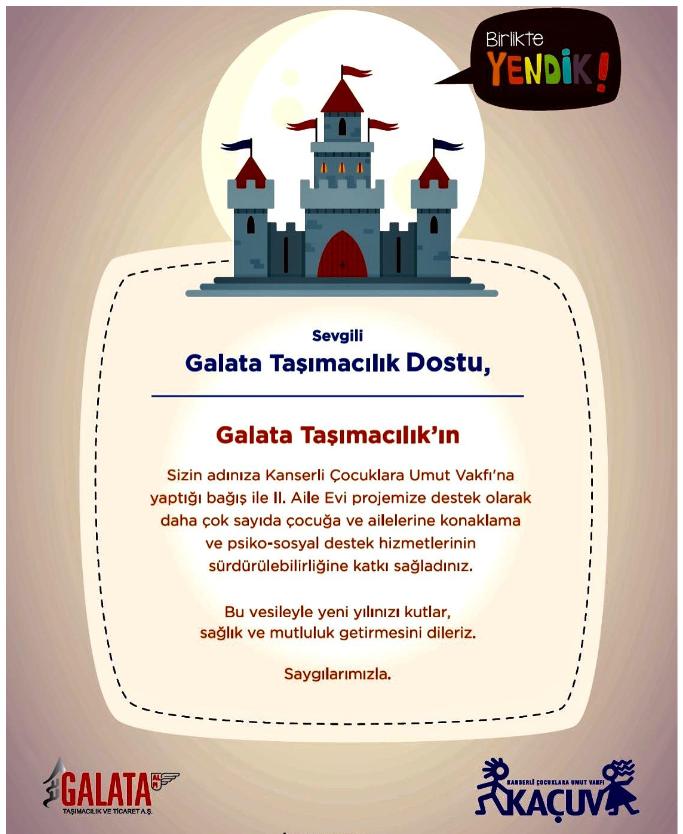 ALPI Galata Donation