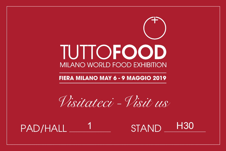 Tutto Food Exhibition 6-9 May 2019