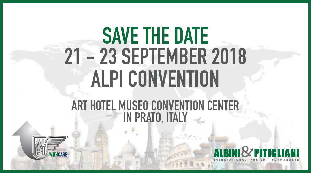 Save The Date - ALPI Convention 2018