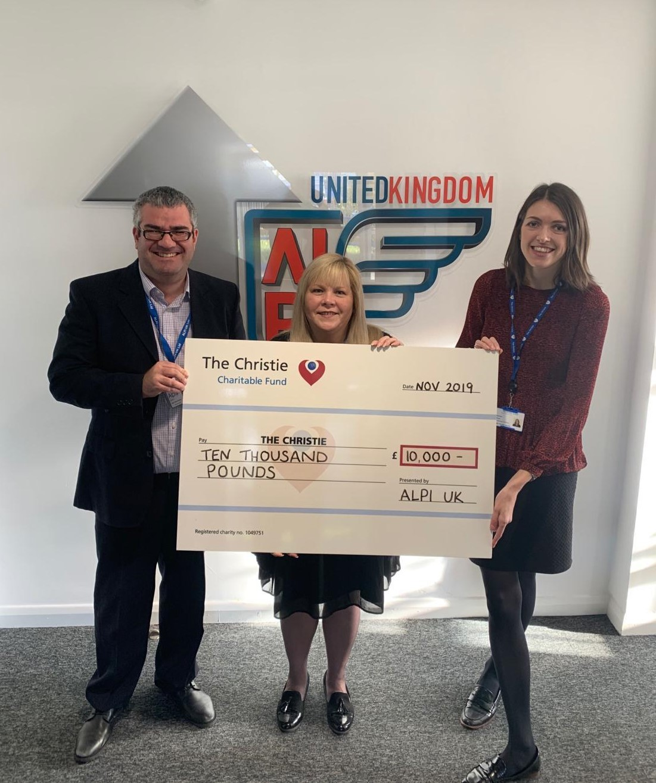 ALPI UK - Christmas Donation