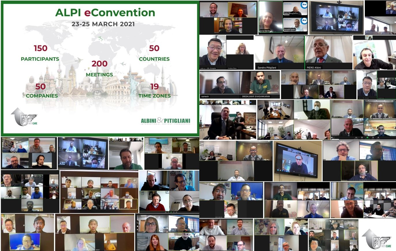 Alpi eConvention - 23/25 March 2021