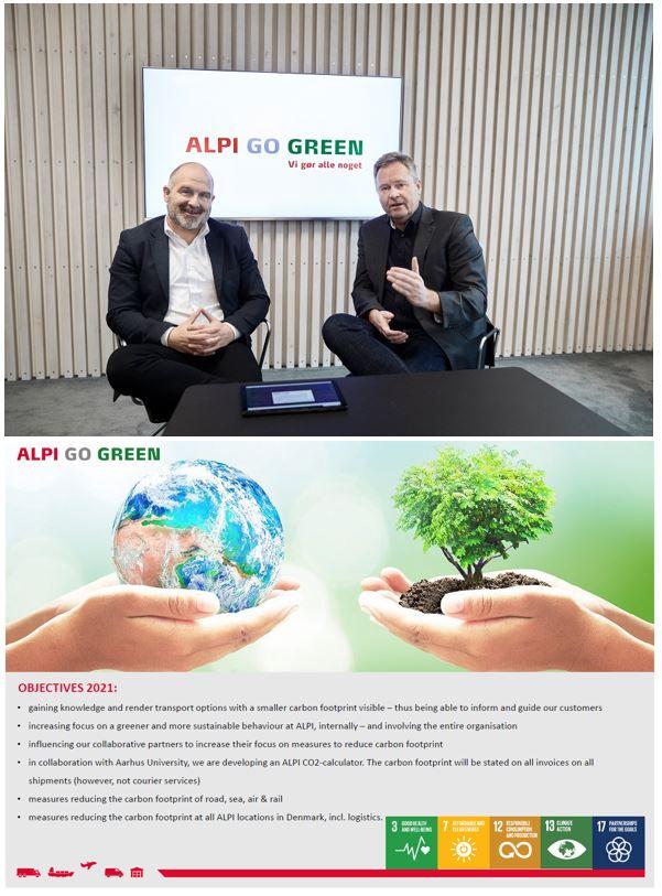 ALPI Danmark Go Green