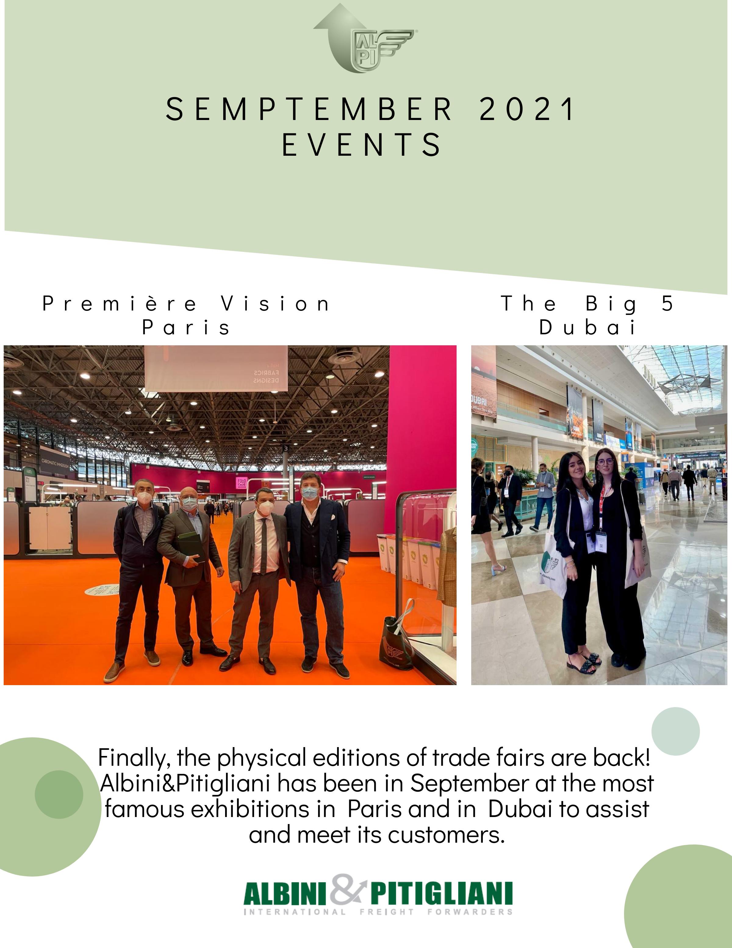 Alpi at the international exhibitions - September 2021