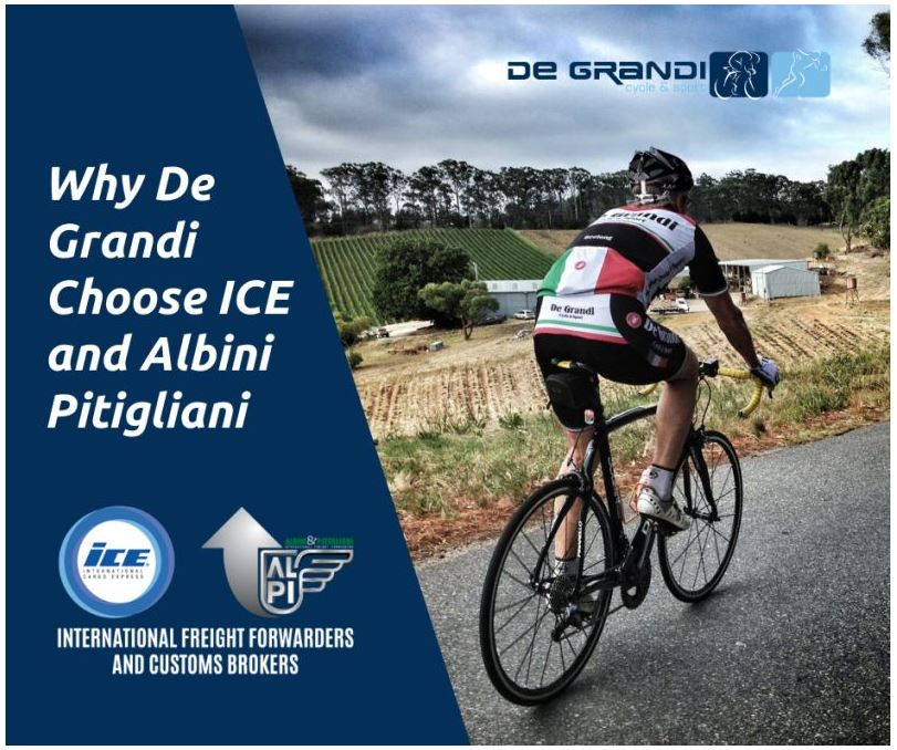 Why De Grandi choose ICE and Albini&Pitigliani