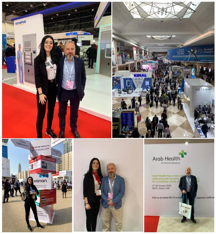 ALPI Expo at the Arab Health Exhibition in Dubai