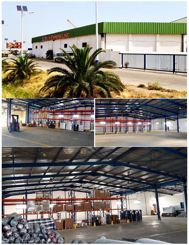 Delta Express Line: New Warehouse for our partner in Tunisia