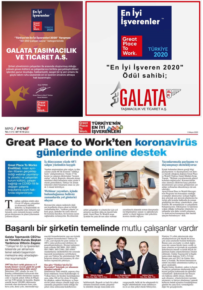 ALPI Galata - Great Place To Work 2020