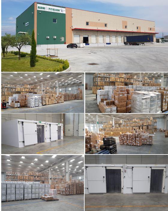 Albini & Pitigliani Napoli - New Building & Warehouse