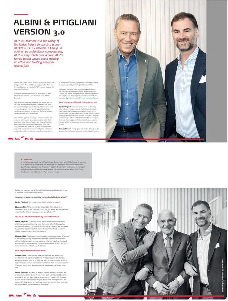 Albini & Pitigliani Version 3.0 - Interview of Managing Directors