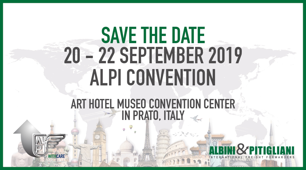 Save The Date - ALPI Convention 2019