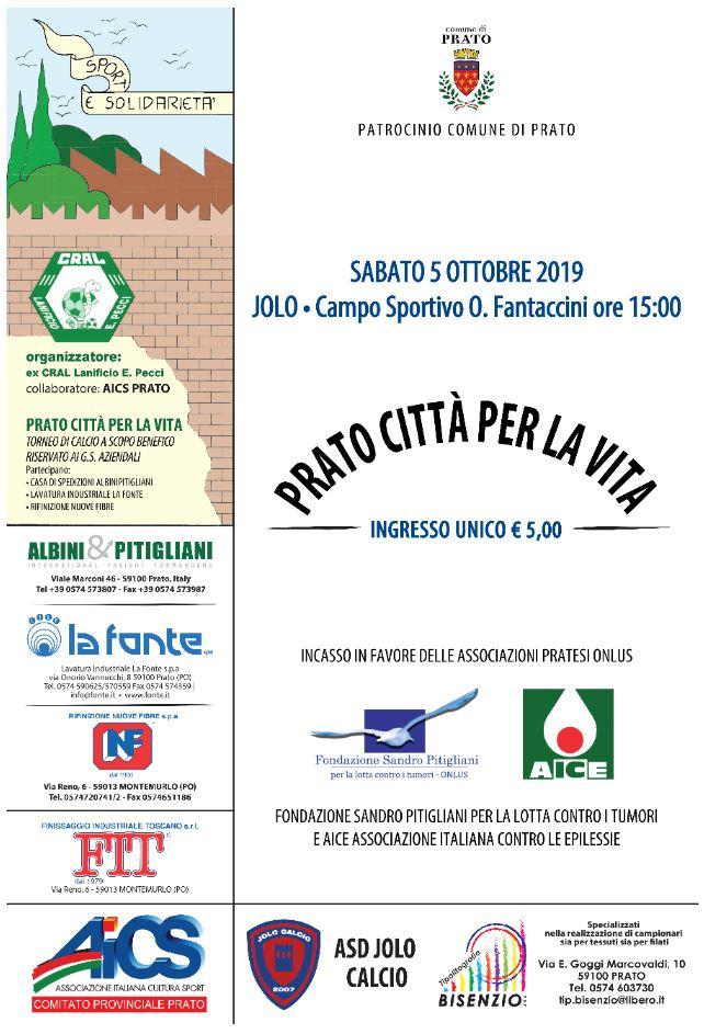 Prato città per la vita - Sport & Solidarietà