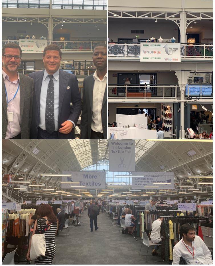 The London Textile Fair - July 2019